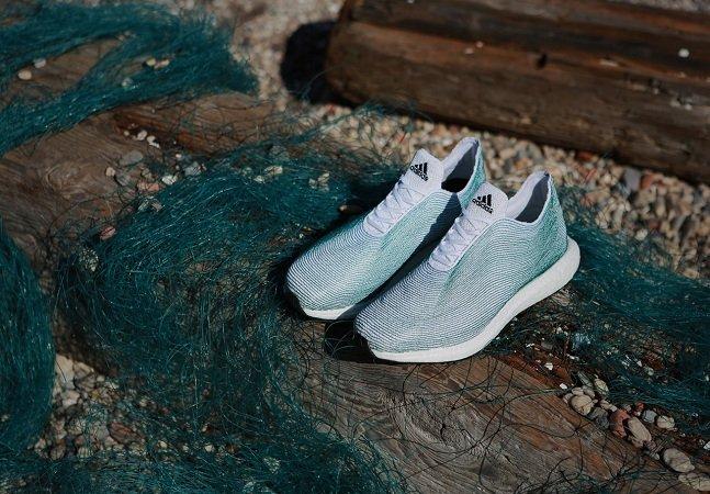 Adidas cria sneakers com lixo reaproveitado do mar