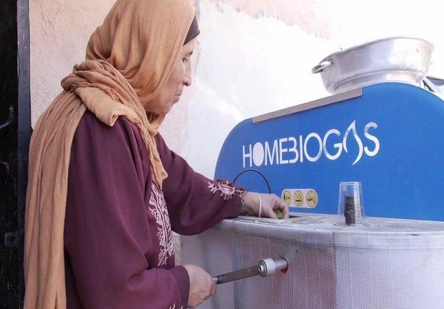 Equipamento criado por israelenses  transforma lixo orgânico em biogás