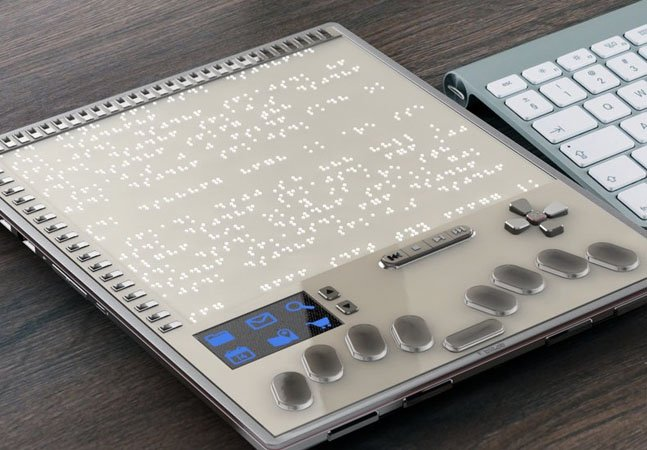 Este pode ser o primeiro tablet desenvolvido exclusivamente para deficientes visuais