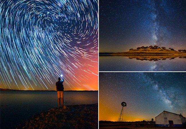 Fotógrafo capta o céu estrelado dos lugares menos poluídos de Portugal em série impressionante