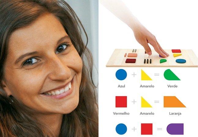 Designer portuguesa cria código que permite que deficientes visuais distingam as cores