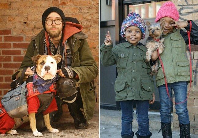 Dogs of NY: projeto fotográfico mostra a relação entre cães e humanos