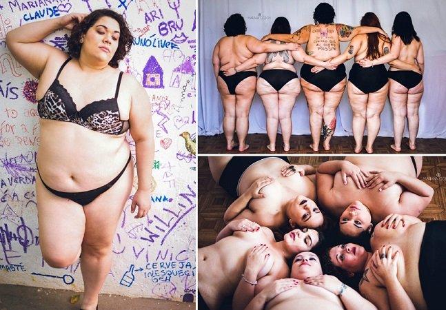 """Fotógrafa brasileira lança debate retratando """"mulheres gordas"""" em ensaio sensual"""