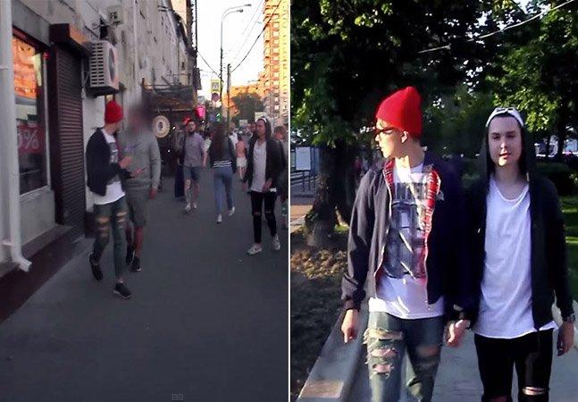 Experimento social na Rússia mostra o que casais homossexuais ainda enfrentam nos dias de hoje