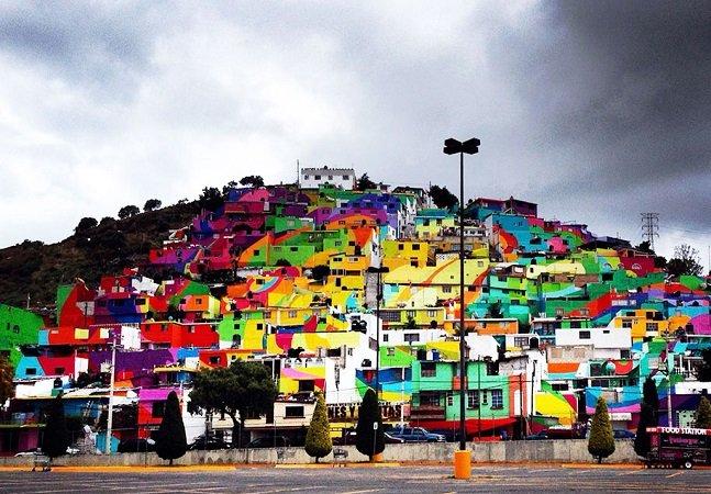 A comunidade mexicana que se uniu em torno da arte