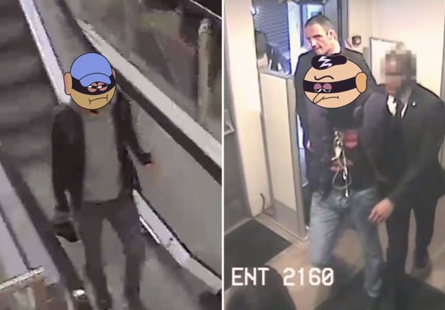 Campanha divertida feita com ladrões lembra que ser honesto compensa