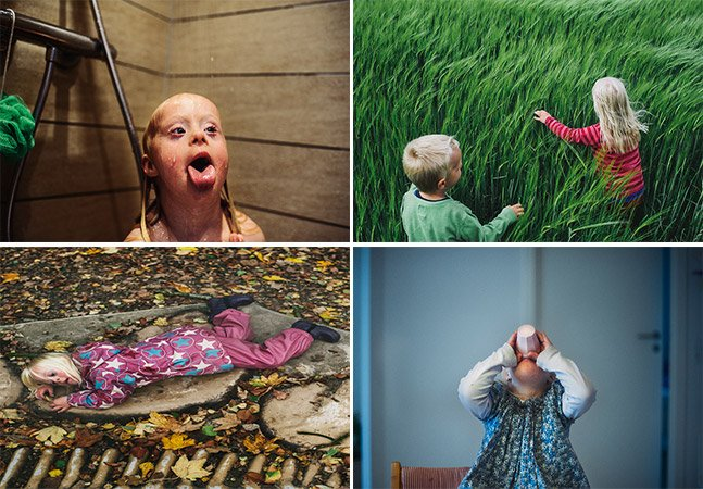 Série de fotos sensível capta o cotidiano de uma menina com Síndrome de Down que vive junto à natureza