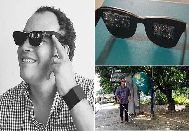 Estudantes pernambucanos criam óculos com GPS para deficientes visuais
