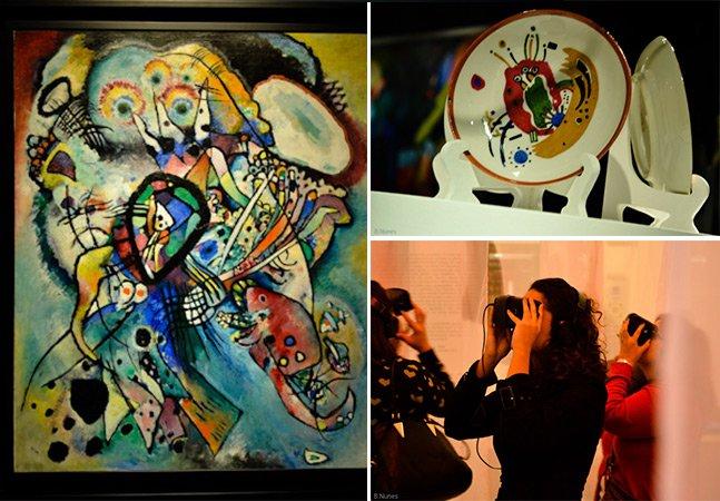 Mostra de Kandinsky, um dos precursores da arte abstrata, chega a São Paulo