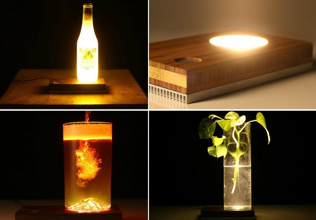 Este produto vai te ajudar a transformar qualquer objeto numa luminária