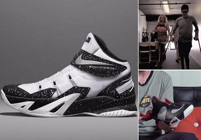 Nike cria tênis especial para quem tem movimento limitado