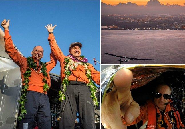 Piloto de avião solar usa auto-hipnose para se manter acordado
