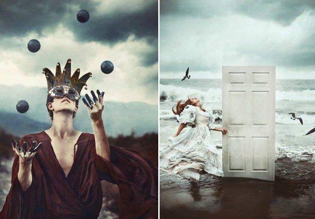 Fotógrafo retrata a sua vulnerabilidade com portfólio surreal