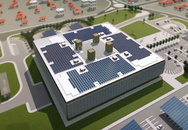 Usina solar instalada em Florianópolis é capaz de fornecer energia para 1,8 mil pessoas