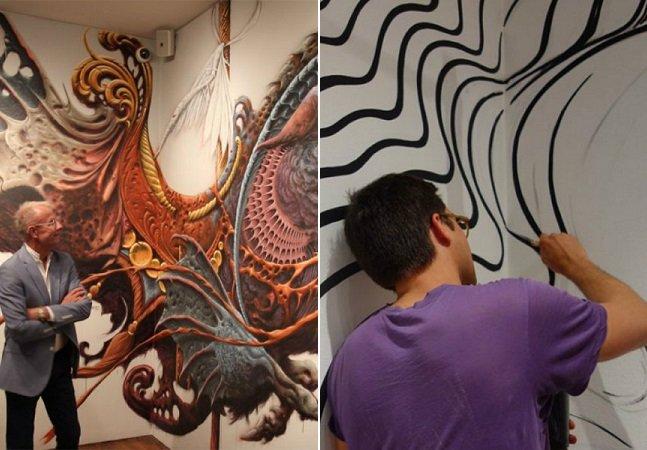 Museu deixa artistas fazerem o que eles quiserem nas paredes