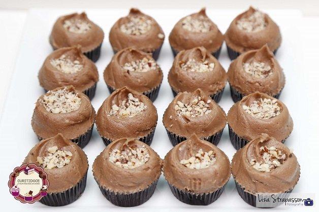 Cupcakes de Nutella da Special Treat  (Foto Liza Strapasson)