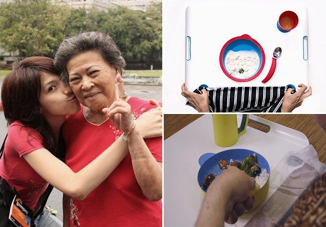 Designer se inspira na avó para criar louças que ajudam pessoas com Alzheimer