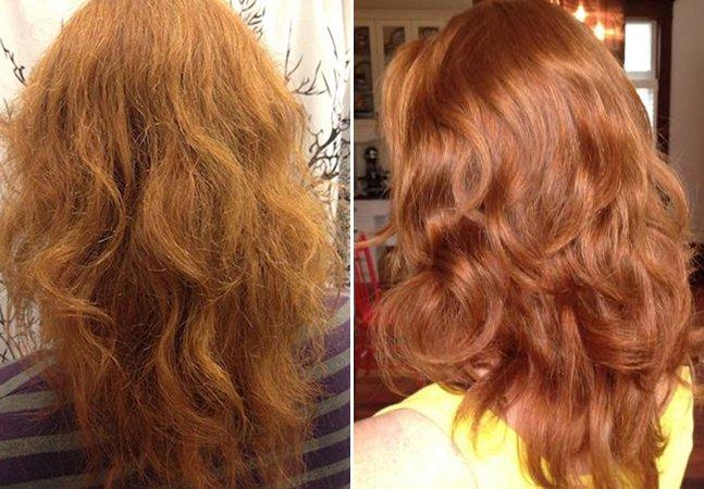 O que aconteceu com o cabelo da mulher que trocou o shampoo por um produto inusitado