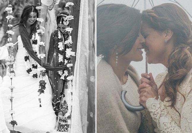 Fotógrafa cria álbuns fantásticos de casamentos LGBT