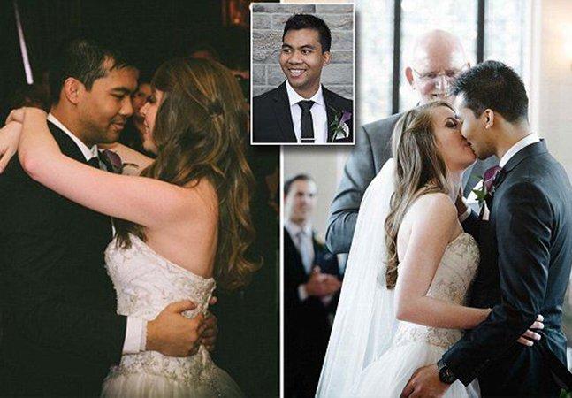 Casal emociona o mundo ao preparar casamento incrível mesmo sabendo que o noivo teria pouco tempo de vida
