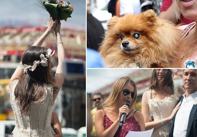 Casal de veganos se casa e pede doações para ajudar animais ao invés de presentes