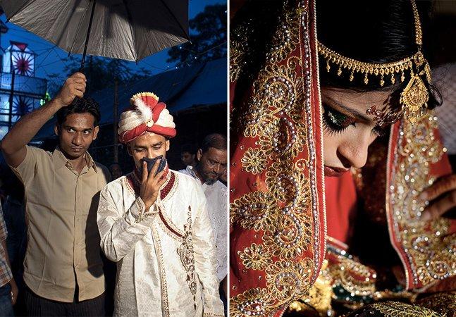 Série fotográfica tocante mostra meninas adolescentes forçadas a se casar com homens mais velhos