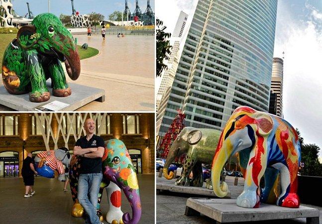 Brasil vai receber primeira Elephant Parade da América Latina