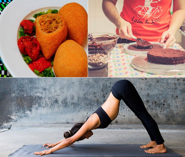 Evento gratuito em SP reúne comida vegana, yoga e palestras  no dia dos pais