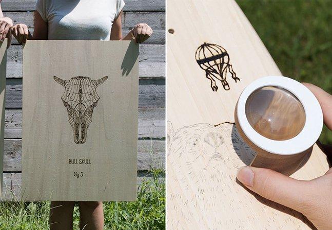 Ferramenta inovadora mistura ciência e arte para permitir desenhar usando a luz do sol