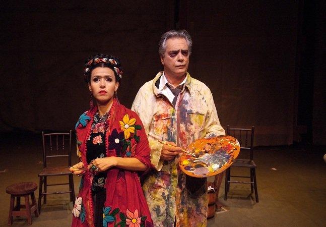 A vida de Frida Khalo e Diego Rivera é retratada em peça de teatro na capital paulista