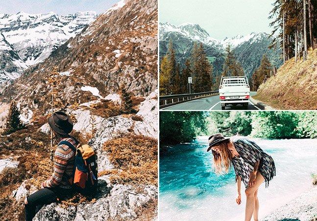 Fotógrafo clica imagens incríveis de road trip pela Suíça