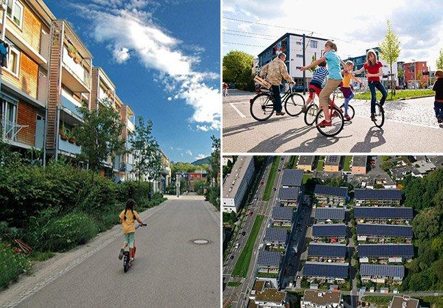 Conheça a comunidade alemã que dispensa carros, recicla e ainda gera energia