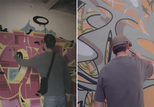 Curta mostra a história do graffiti na cidade de Berlim
