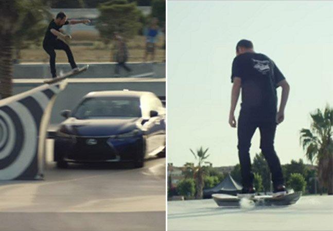 """Agora é real: Lexux revela detalhes do skate voador inspirado no filme """"De Volta para o Futuro"""""""