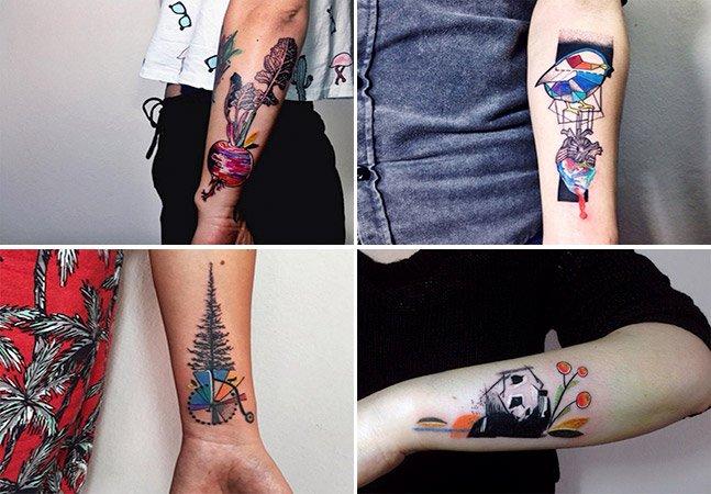 Tatuadora e bióloga cria fantásticas artes  na pele inspirada no mundo animal