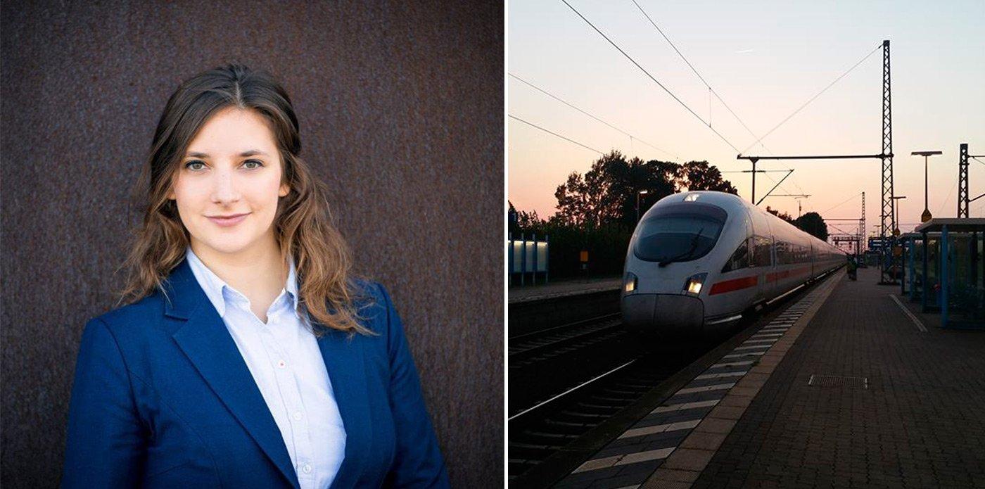 Estudante alemã passa a viver em trem pra não precisar pagar aluguel