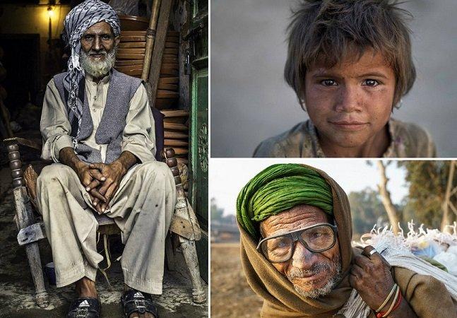 Série fotográfica mostra pessoas que vivem com 1,30 libras por dia