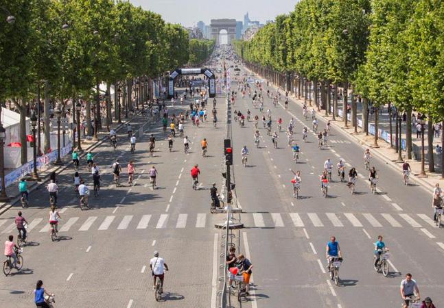 Paris vai banir carros na cidade inteira durante um dia de setembro