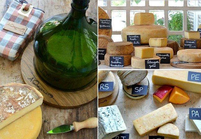 Loja faz sucesso com delivery de queijos artesanais para o país todo