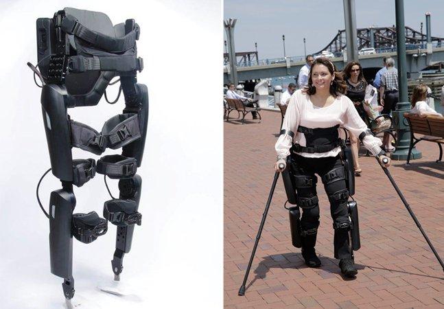 Dispositivo inovador permite que pessoas com paralisia voltem a andar
