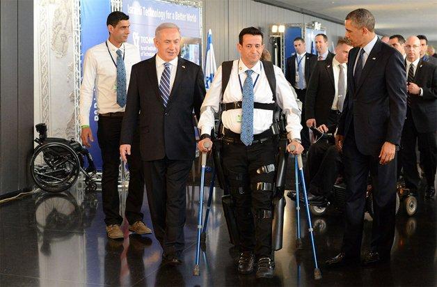 President Obama & Prime Minister Netanjahu – ReWalk Demonstrat