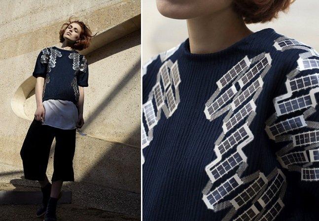 "Moda + tecnologia: empresa cria ""camisa solar"" que permite recarregar seus gadgets"