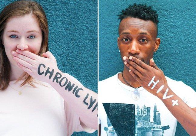 Campanha poderosa incentiva jovens a revelarem e não terem vergonha de suas doenças crônicas