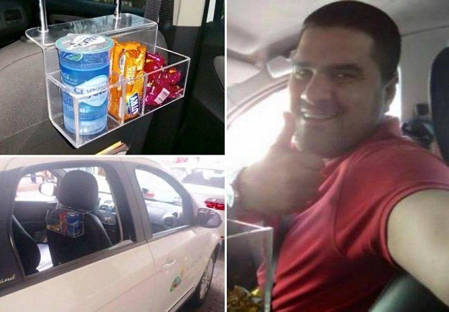 Taxista oferece serviço tão bom quanto o do Uber ao invés de entrar na briga
