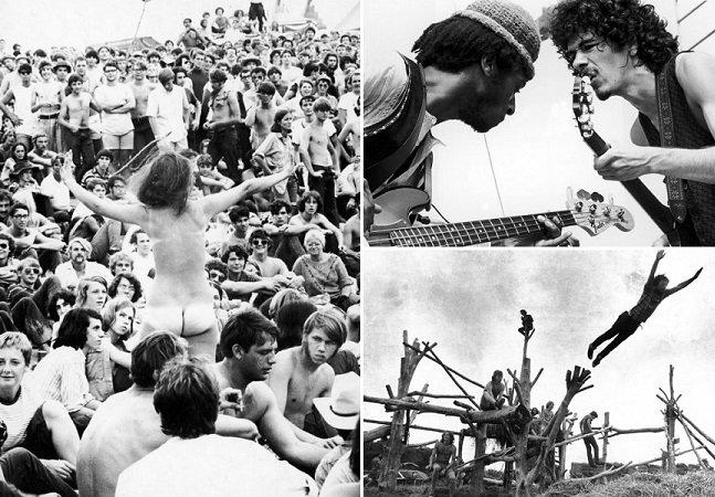 """Série de fotos documenta a """"loucura"""" do mítico festival de Woodstock"""