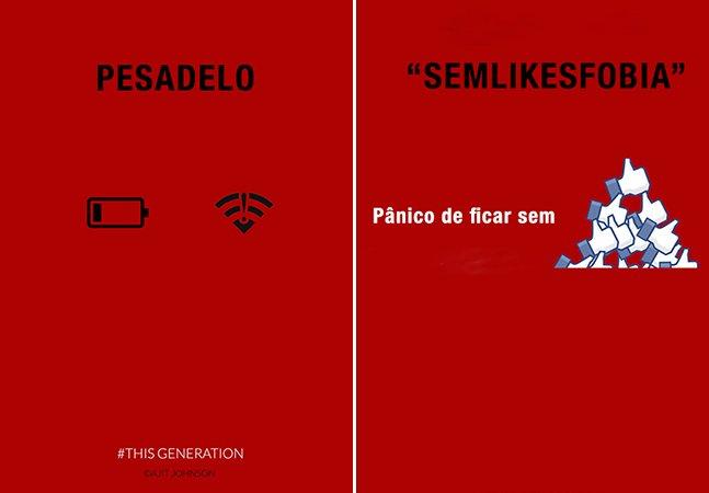 Série de cartazes honestos mostra que nossa relação com a tecnologia pode não ser tão saudável assim