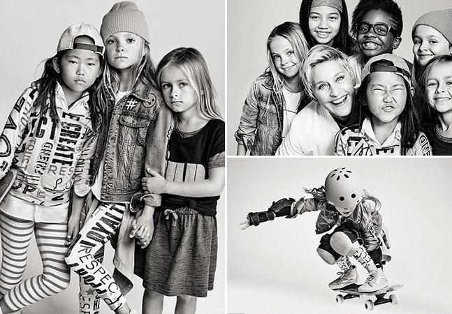 Apresentadora se une a marca de roupa e lança linha para encorajar garotas a ser o que elas quiserem