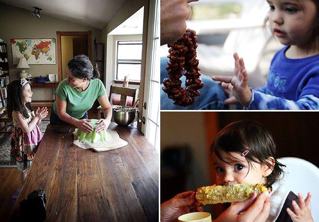 Pais alimentam a filha com comida típica de 195 países até aos 5 anos