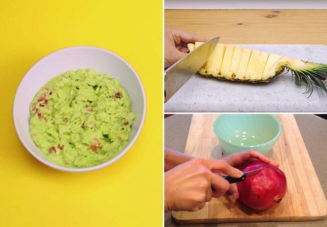 Aprenda 7 truques pra cortar fruta mais rápido