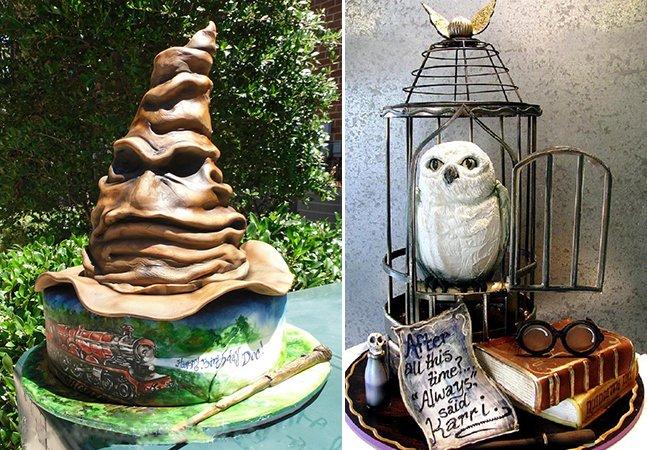 15 bolos inspirados em Harry Potter que vão te levar diretamente pra Hogwarts